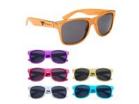 Metallic Malibu Retro Sunglasses