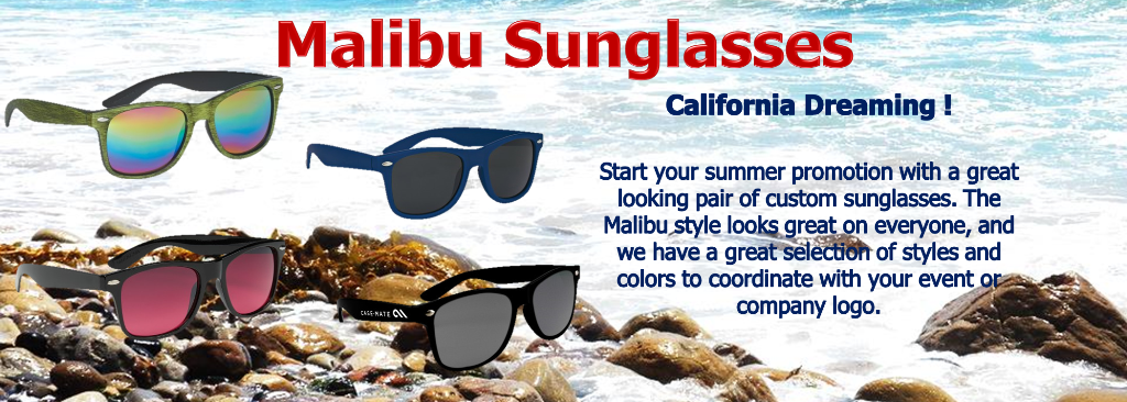 7912cb83e8 Custom Malibu Sunglasses