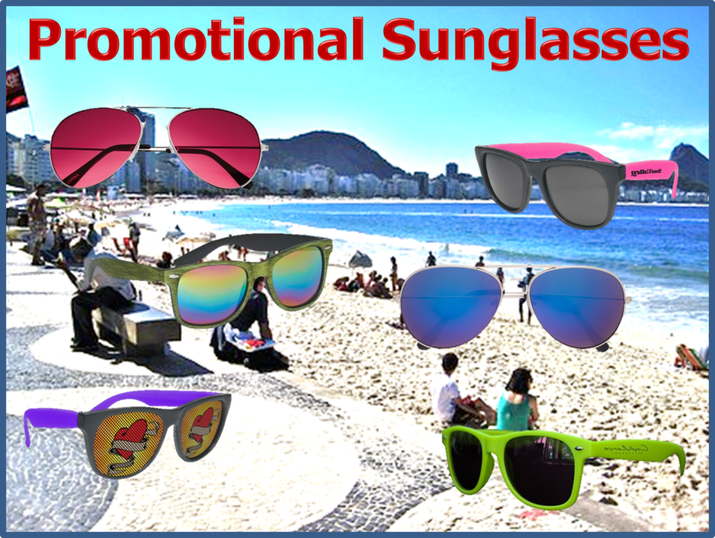 , Sunglasses Make the Perfect Addition to all your Summer Promotions
