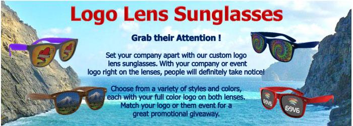 Logo Lens Sunglasses