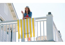 "30"" x 60"" Standard Cabana Multi-Colored Beach Towel"