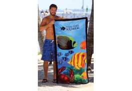30″ X 60″ Fish Stock Design Beach Towel