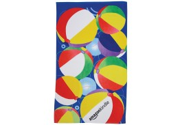 35″ X 60″ Beach Ball Stock Design Beach Towel