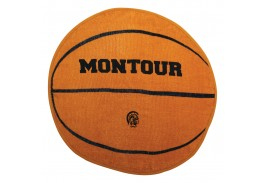 "20"" x 20"" Basketball Shaped Sport Towel"