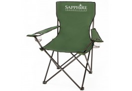 Super Deluxe Folding Captain's Chair with Carrying Case
