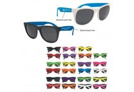 Premium RETRO ! Baja Neon Rubber Sunglasses
