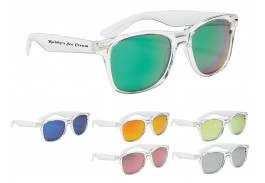 Crystalline Malibu Retro Sunglasses