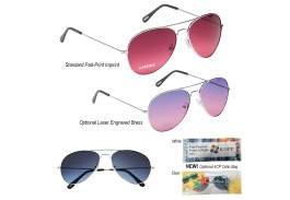 Ocean Gradient Aviator Sunglasses