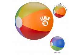 "16"" Rainbow Beach Ball"