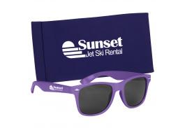 Malibu Sunglasses With Color Pouch