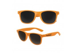 Kids Wood Grain Iconic Sunglasses