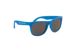 Solid Color Rubberized Sunglasses
