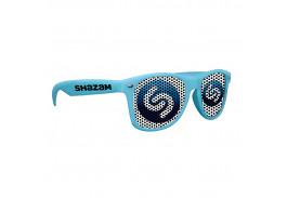 Logo Lens Matte Soft Rubberized Finish Miami Sunglasses