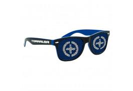 Logo Lens Two Tone Miami Sunglasses