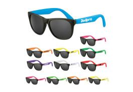 Assorted Neon Premium Classic Sunglasses