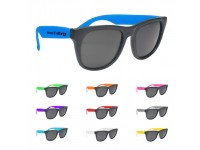 RETRO ! Baja Neon Rubber Sunglasses