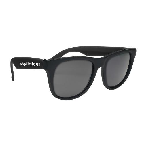 c7c461703d Promotional Retro Baja Neon Rubber Sunglasses Solid Color Frames