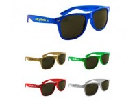 Metallic Miami Sunglasses