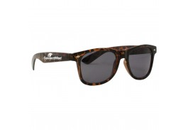 South Beach Blues Retro Sunglasses - Tortoise