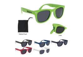 Malibu Retro Folding Sunglasses