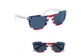 Patriotic Malibu Retro Sunglasses