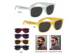 Color Changing Malibu Retro Sunglasses