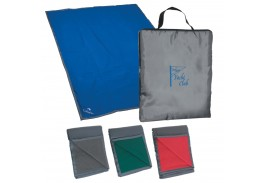 Reversible Fleece/Nylon Blanket With Carry Case